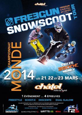 Championnat du monde snowscoot 2014