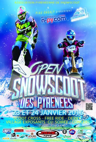 Snowscoot affiche 2016